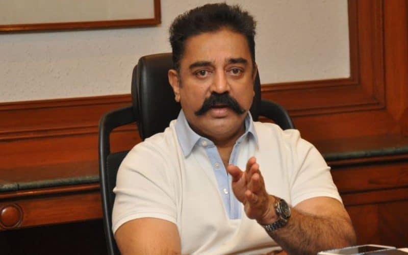 Kamal Hassan attacks Indian PM Modi over new parliament building.