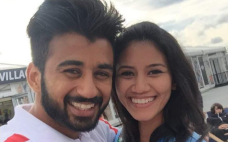 Indian Hockey captain Mnpreet Singh Pawar marries Malaysian girlfriend Illi Najwa Saddique