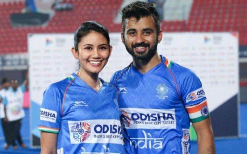 Government to preobe religious status of Illi Najwa Saddique who married Indian Hockey captain Manpreet Singh