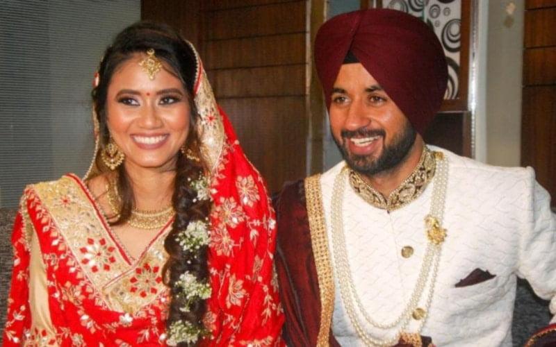 Malay-Muslim woman Illi Najwa Saddique married her Indian boyfriend Manpreet Singh on December 17.