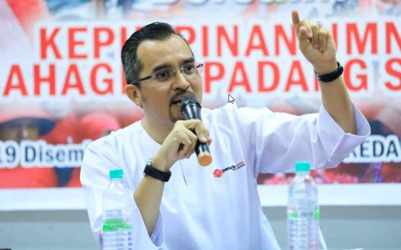 Datuk Dr Asyraf Wajdi Dusuki, Head of Malaysian UMNO Youth Movement.
