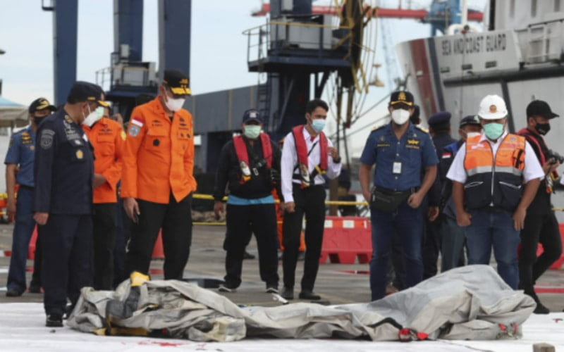 A Sriwijaya Air Plane carrying more than 60 people crashed after taking off from Indonesia's capital Jakarta