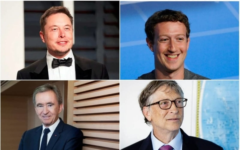 The ten richest people on the planet, including Jeff Bezos, Elon Musk and Bill Gates, can even vaccinate the entire world with their 2020's profit.