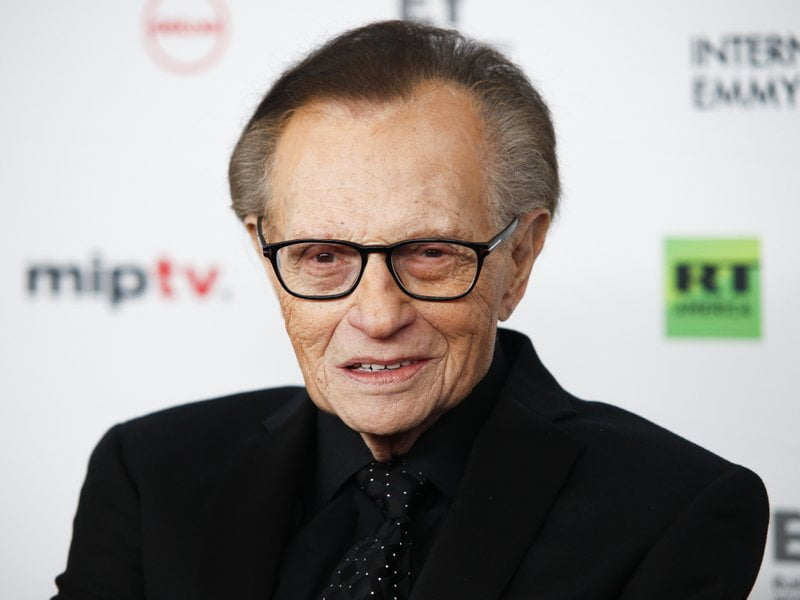 Larry King dies at the age of 87.
