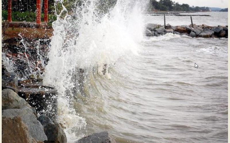 MetMalaysia alert high tide in in Pahang, Johor, Kelantan Terengganu, Sabah.